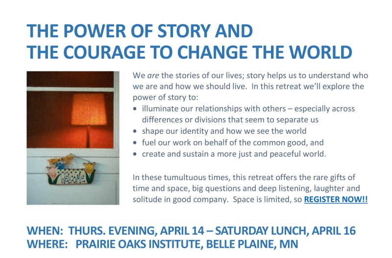 power of story flyer spring 2016Still