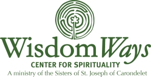 White outline with Sisters of St. Joseph LogoSP16