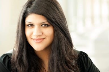 Maham Khan at Harper College in IL. Photo originally taken for A Peace of My Mind: American Stories. Express permission from the artist is required for any reuse or reproduction.