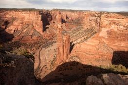 We interviewed Sheila at the overlook for Spider Rock at Canyon de Chelly National Monument.