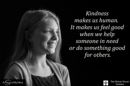 """Photo originally taken for A Peace of My Mind at Miami Valley School. Subjects were asked, """"What does it mean to be Human?"""""""