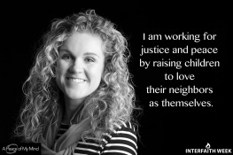 """How do you work for justice and peace?"" A Peace of My Mind at UND."