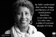 "A Peace of My Mind visited Memphis Theological Seminary and asked, ""How has ypur faith impacted your view of social justice?"""