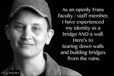 """A Peace of My Mind visited Pacific Lutheran University and asked, """"How has your college experience allowed you to build bridges?"""""""