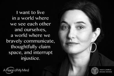 """A Peace of My Mind visited Cornell University and asked, """"What kind of world do you want to live in?"""""""