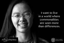 "A Peace of My Mind visited Cornell University and asked, ""What kind of world do you want to live in?"""
