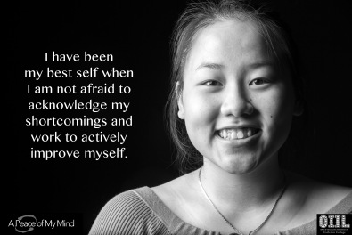 "A Peace of My Mind visited Carleton College and asked, ""When have you been your best self?"""