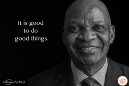 """A Peace of My Mind visited Good Deeds Day in Nairobi and asked, """"What inspires you to do good?"""""""