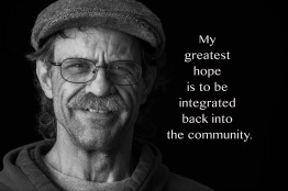 "A Peace of My Mind visited Hopeworks Station and asked residents, ""What are your greatest hopes now that you have a home?"" (and asked staff, ""What are your greatest hopes and dreams for residents and interns at Hopeworks Station?"")"