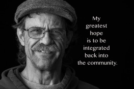 """A Peace of My Mind visited Hopeworks Station and asked residents, """"What are your greatest hopes now that you have a home?"""" (and asked staff, """"What are your greatest hopes and dreams for residents and interns at Hopeworks Station?"""")"""