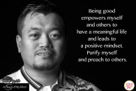 """A Peace of My Mind visited Good Deeds Day in Bangkok, Thailand and asked, """"What inspires you to do good?"""""""